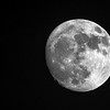 full moon view on clear night sky