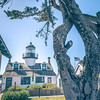 Point Pinos Lighthouse in Monterey California