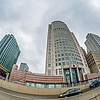 downtown detroit michigan city skyline