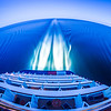 night scenes on luxury cruise ship
