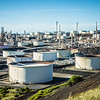petroleum fuel industrial refinery in california usa