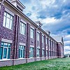 School building - North America historic brick school architecture