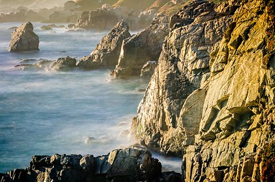 beautiful landscapes around big sur california