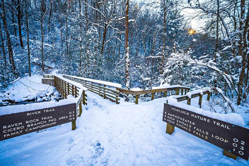 south mountain state park winter season