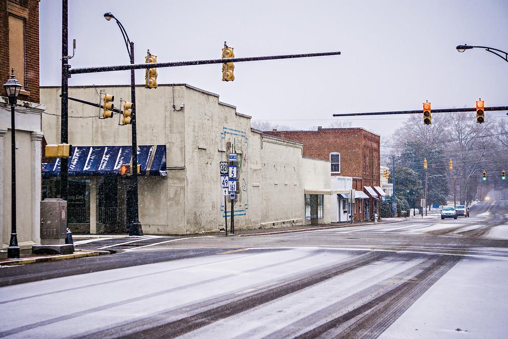 winter season in york south carolina