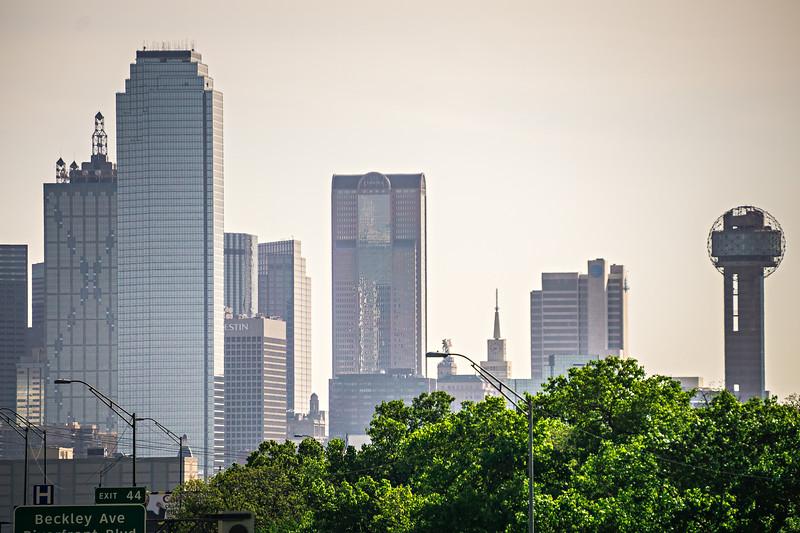 dallas texas city skyline at daytime
