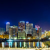 pittsburgh city skyline early morning