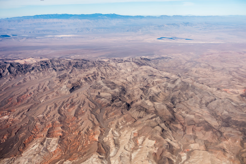 grand canyon arizona view from an airplane