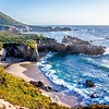 pacific ocean coastal scenes of beaches rocks and cliffs