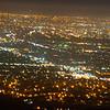san jose city lights at night