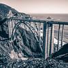 Bixby Bridge and Coastline at Big Sur