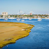 charleston south carolina skyline view across river