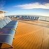 on board a large cruise ship in alaska