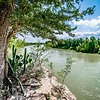 rio grander dividing border between usa and mexico