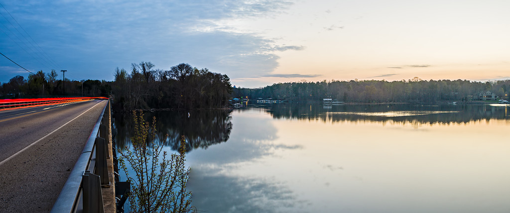 sunriseon lake wylie near belmont NC