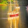sail boat yaht parked at harbor bay