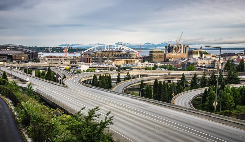 SEATTLE - JUNE 2017: Century Link Field stadium. Home of Seattle Seahawks on June 2017 in Seattle Washington.