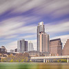 Austin Texas downtown skyline across colorado river