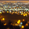 city lights bokeh night abstract