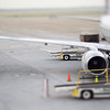 airplanes and transportation scenes on the tarmac