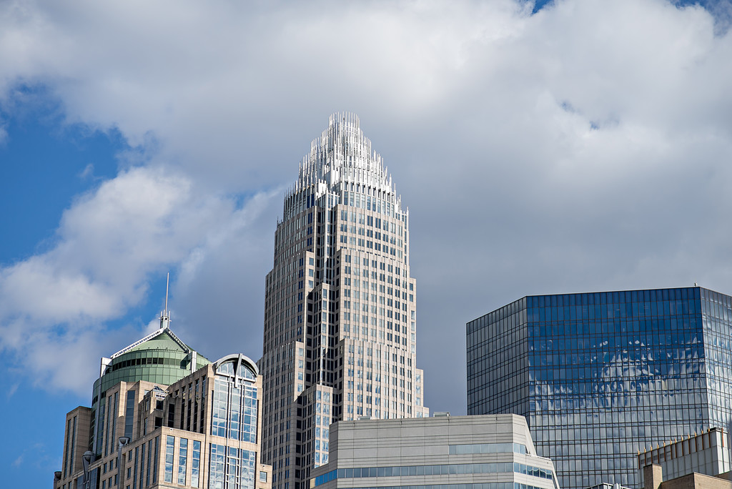 charlotte north carolina buildings skyline