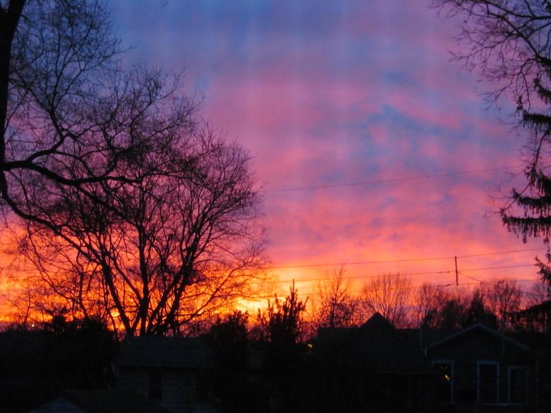 01-01-17 Dayton 04 sunset