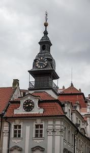 2017 EC Prague old Jewish Quarter Clock ws 1-2