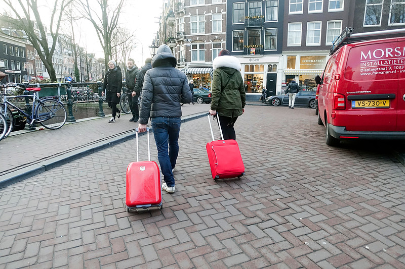 Nederland, Amsterdam, prinsengracht, 4 januari 2017, foto: Katrien Mulder