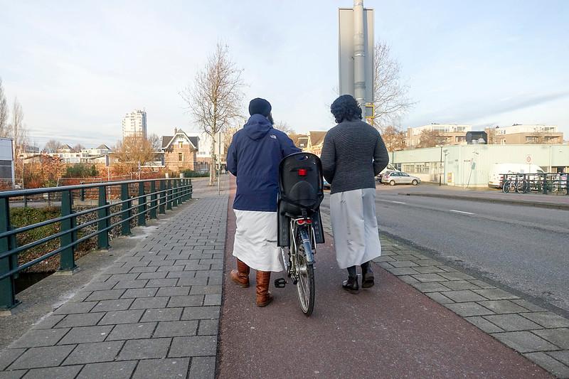 Nederland, Amsterdam, Amsterdam oost, salafistische jonge mannen;6 januari 1017, foto: Katrien Mulder