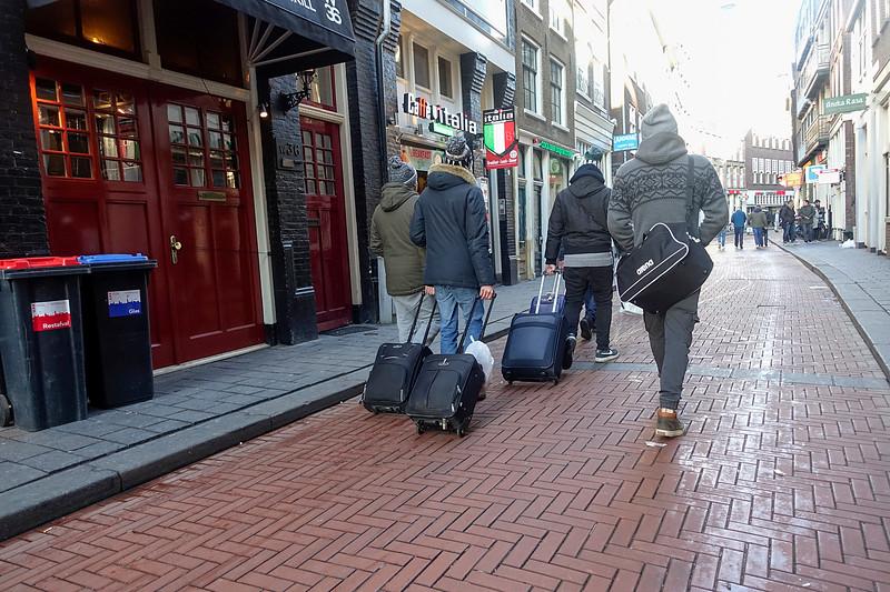 Nederland, Amsterdam, 16 januari 2017, Warmoesstraat, foto: Katrien Mulder