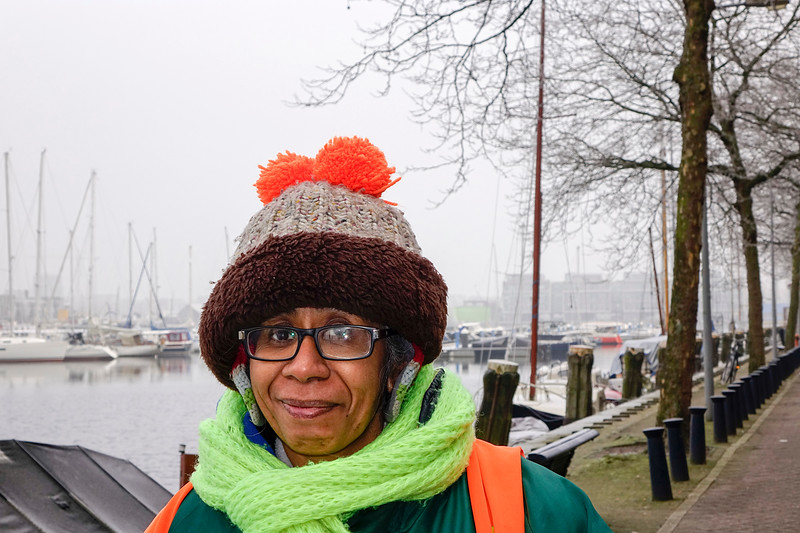 Nederland, Amsterdam, Zeeburgerkade, winter, 18 januari 2017, foto: Katrien Mulder