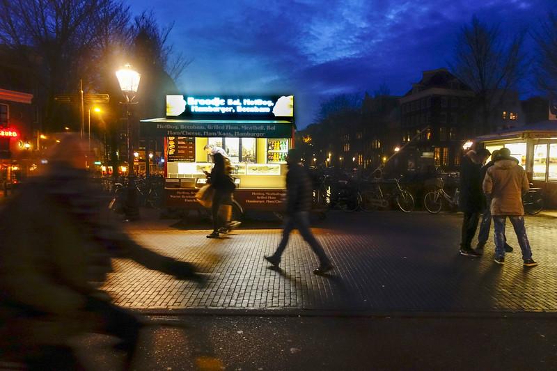 Nederland, Amsterdam, Singel bij Nieuwendijk en Haarlemmerstraat, , 27 januari 2017, foto: Katrien Mulder