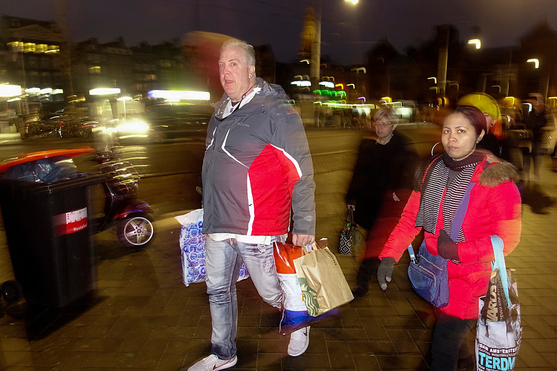 Nederland, Amsterdam, Damrak; 28 januari 2017, foto: Katrien Mulder