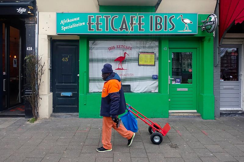 Nederland, Amsterdam, Afrikaans Restaurant, Weesperzijde, 31 januari 2017, foto: Katrien Mulder