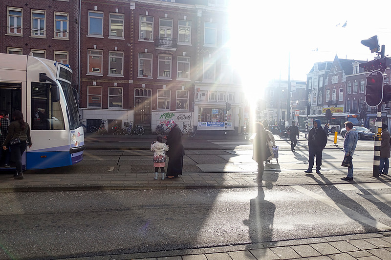 Nederland, Amsterdam, hoek Linnaeusstraat Wijttenbachstraat, 31 januari 2017, foto: Katrien Mulder