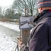 Nederland, Amsterdam, Amsterdam Oost, Flevopark in de sneeuw, 12 februari 2017, foto: Katrien Mulder