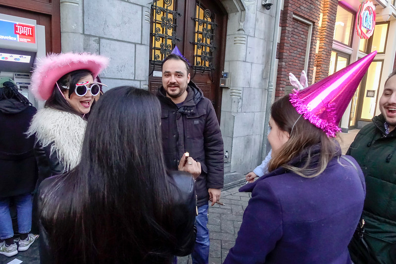 Nederland, Amsterdam, jarig!, 18 februari 2017, foto: Katrien Mulder