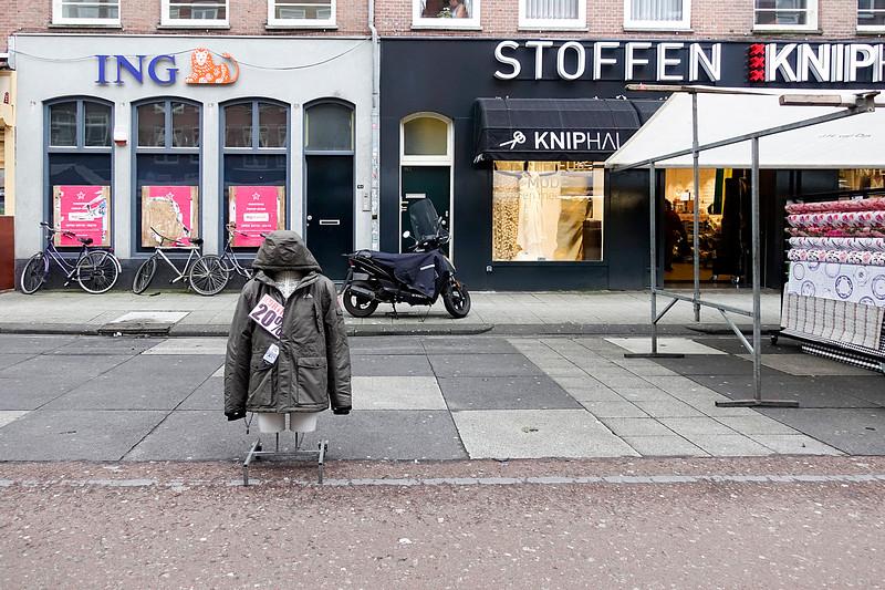 Nederland, Amsterdam, Albert Cuyp, 2 maart 2017, foto: Katrien Mulder