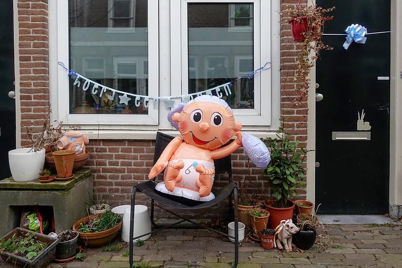 Nederland, Amsterdam, Hoera een jongen! Hurray a boy!22 maart 2017, foto: Katrien Mulder