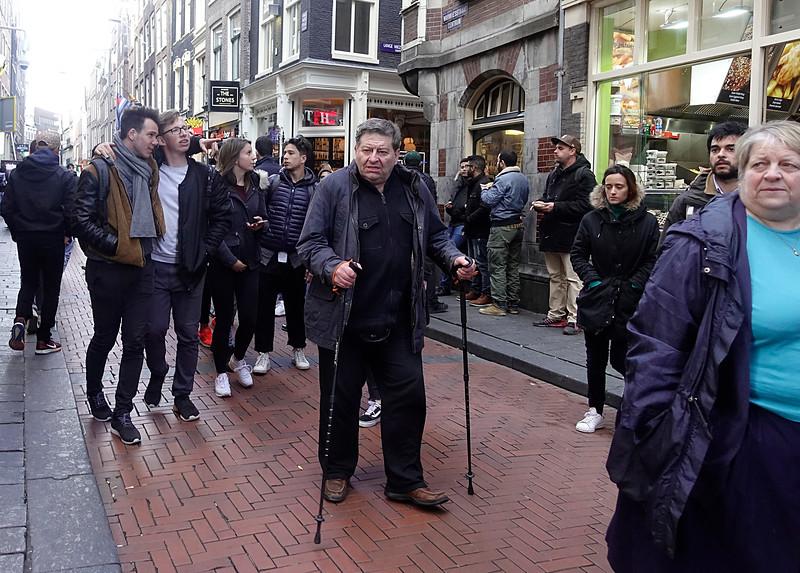 Nederland, Amsterdam, Warmoesstraat, 15 april 2017, foto: Katrien Mulder