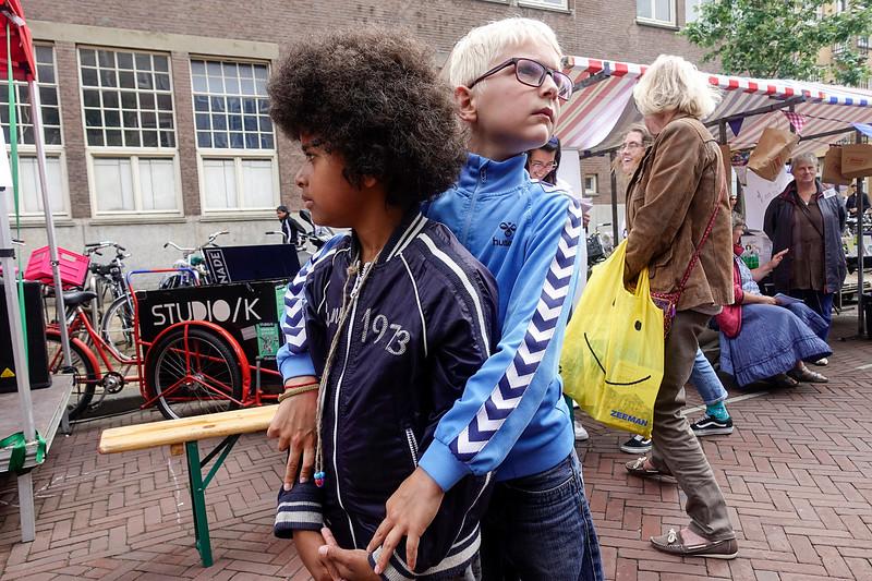 Nederland, Amsterdam, 1 juli 2017,  feest in de Indische Buurt, foto: Katrien Mulder