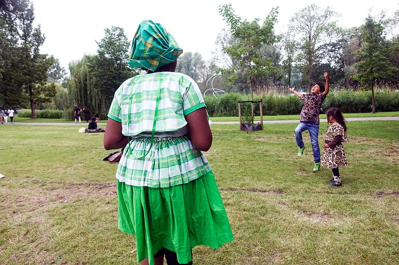 Nederland, Amsterdam, 1 juli 2017, Keti Koti Festival in het Oosterpark, foto: Katrien Mulder