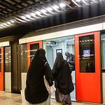Nederland, Amsterdam, 6 juli 2017, metrostation, foto: Katrien mulder
