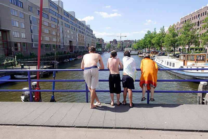 Nederland, Amsterdam, zomer, 9 juli 2017. foto: Katrien Mulder
