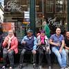 Nederland, Amsterdam, Zeedijk, bier drinkende  cafe bezoekers, Beer drinking cafe visitors, 19 augustus 2017, foto: Katrien Mulder