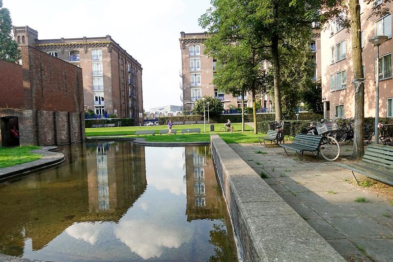 Nederland, Amsterdam, Hildo Kropplein, 3 september 2017, foto: Katrien Mulder