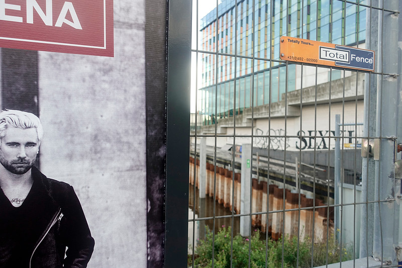 Nederland, Amsterdam, bouwput oosterdoksstraat, 18 september 2017, foto: Katrien Mulder