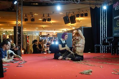 Duitsland, Berlijn. Messegelande, Erotiekbeurs Venus, 13 oktober 2017, foto: Katrien Mulder