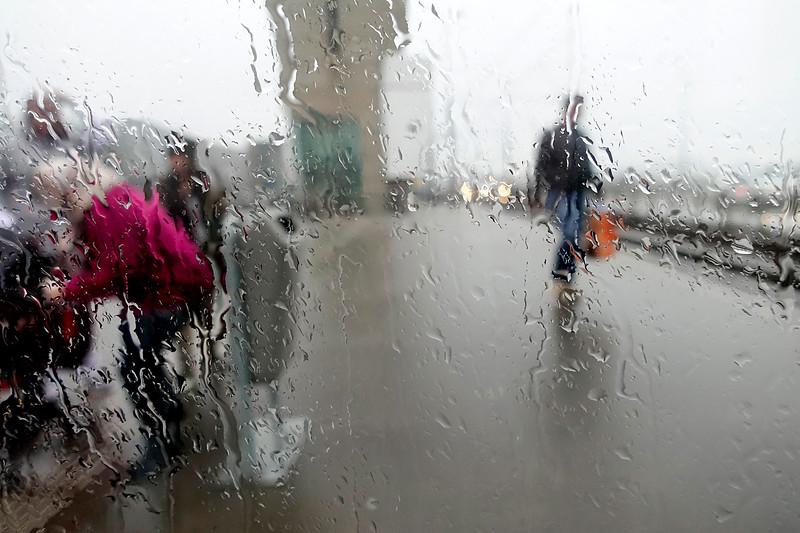 Nederland, Amsterdam, 20 oktober 2017, het regent, foto: Katrien Mulder