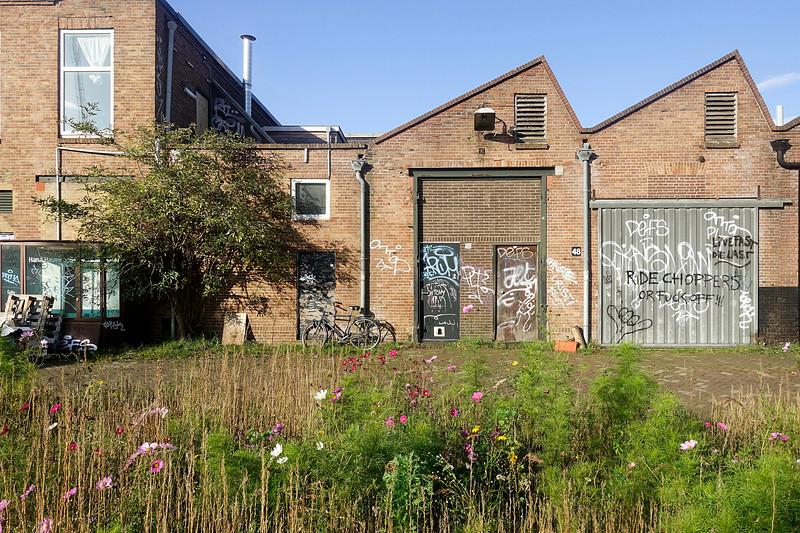 Nederland, Amsterdam, 5 november 2017, bedrijventerrein ten zuid oosten van de Meeuwenlaan, Amsterdam Noordfoto: Katrien Mulder